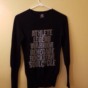 e.vil Black 100% cashmere long sleeved sweater Sm